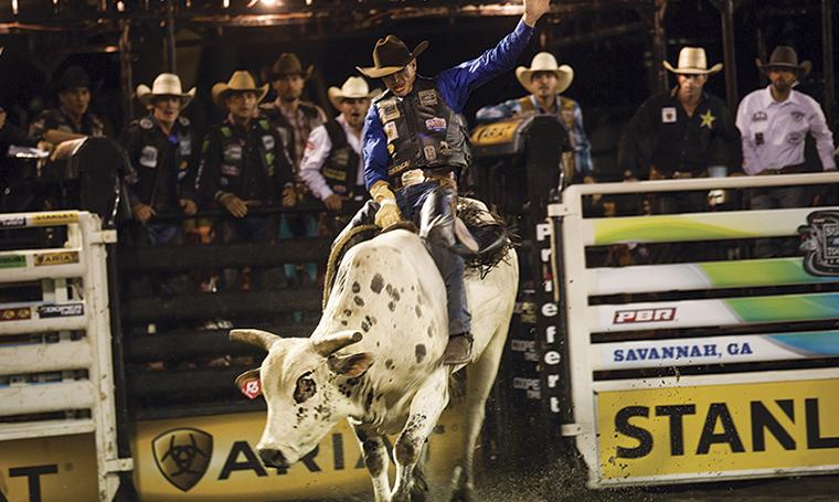 Ariat Sponsors PBR Bull Rider Luke Collins