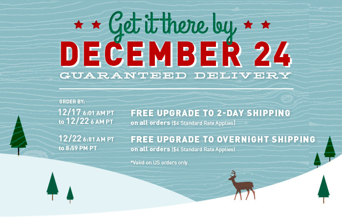 Ariat.com Holiday Delivery